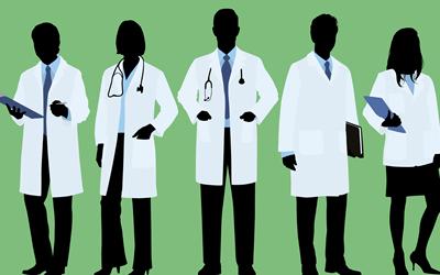 医師の人数を確認する