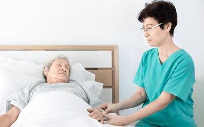終末期の患者の看護