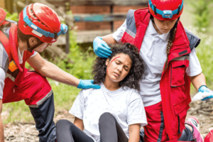 災害看護に携わる看護師