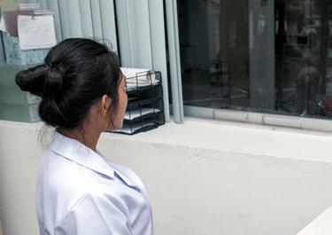 刑務官が准看護師資格を保有している場合がある