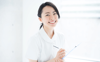 患者や家族と笑顔で会話したい看護師