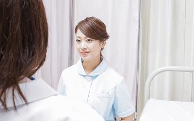 患者の前では笑顔と平常心を徹底する