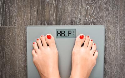 急激に太るか痩せるかに分かれる