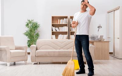 家の掃除など綺麗に整えてくれる人