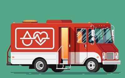 健康診断(検診車)のアルバイト