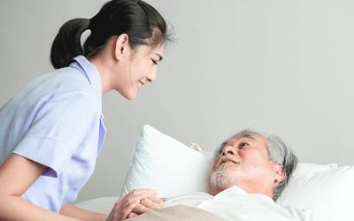 患者の看護や看護処置にやりがいを感じる方