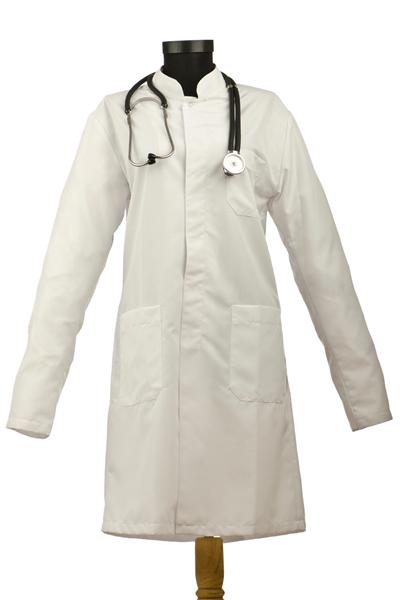 ワンピース型の白衣(ナースウェア)